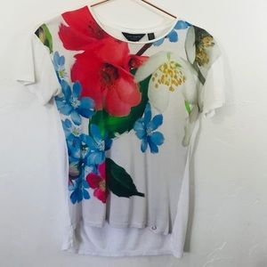 Ted Baker Floral Graphic T-Shirt